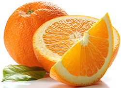 Oranges for hair loss