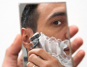 wrong shaving technique